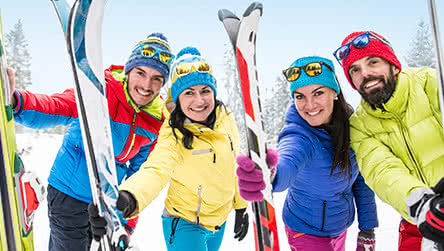 Wintersport 2017  2018  optie mét skipas  Neckermann